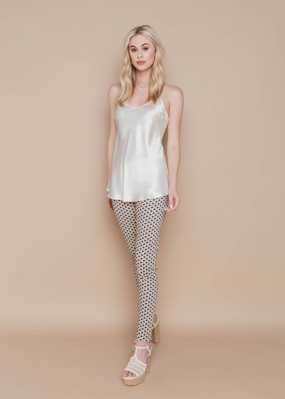Pull on Skinny Pant - Chain Print - Rebecca