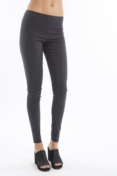 Pull on Skinny Pant - Light Stretch - Charcoal - Rebecca
