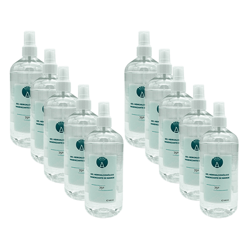 Hydroalcohol Hand Gel 10x 500ml