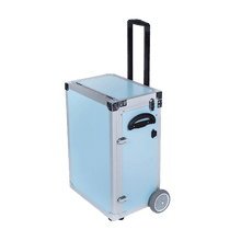 Load image into Gallery viewer, PodoMobile Maxi Pedicure Trolley Grey Blue