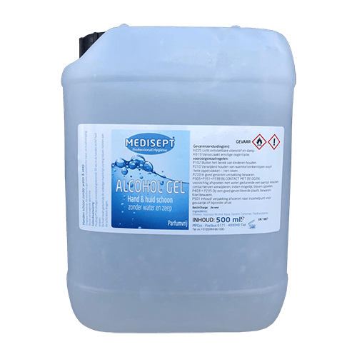 Medisept Alcohol Hand Gel 5L Refill pack
