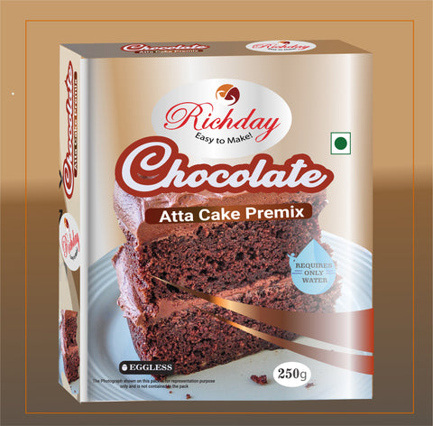 Chocolate Atta Cake Premix 250gm