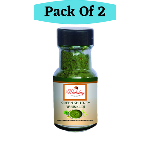 Green Chutney Sprinkler Combo Offer Pack of 2 ( Each 50gm)