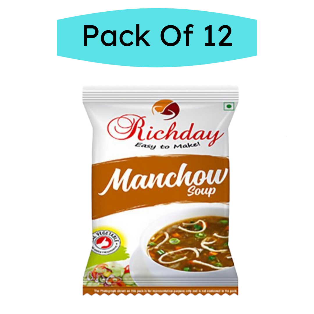 Instant Manchow Combo Pack Of 12 ( Each 15gm )