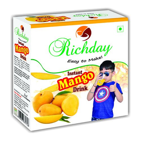 Instant Mango Drink Combo Pack Of 2 ( Each 500gm Pack )