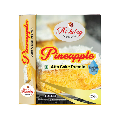 Pineapple Atta Cake Premix 250gm