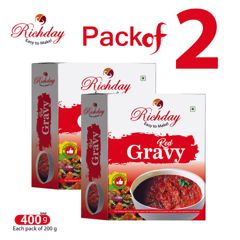 Red Gravy Premix Pack Of 2 ( Each 200gm )
