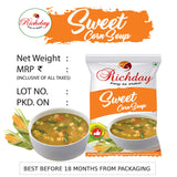 Instant Sweet Corn Soup 15gm