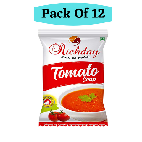 Instant Tomato Soup Combo Offer Pack Of 12 ( Each 15gm )