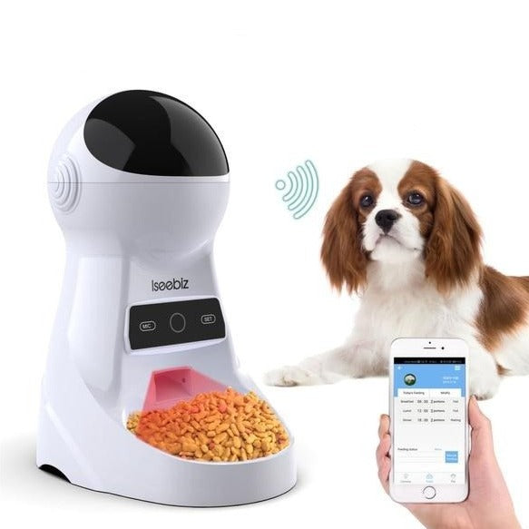 New Remote App-Controlled Pet Meal Dispenser