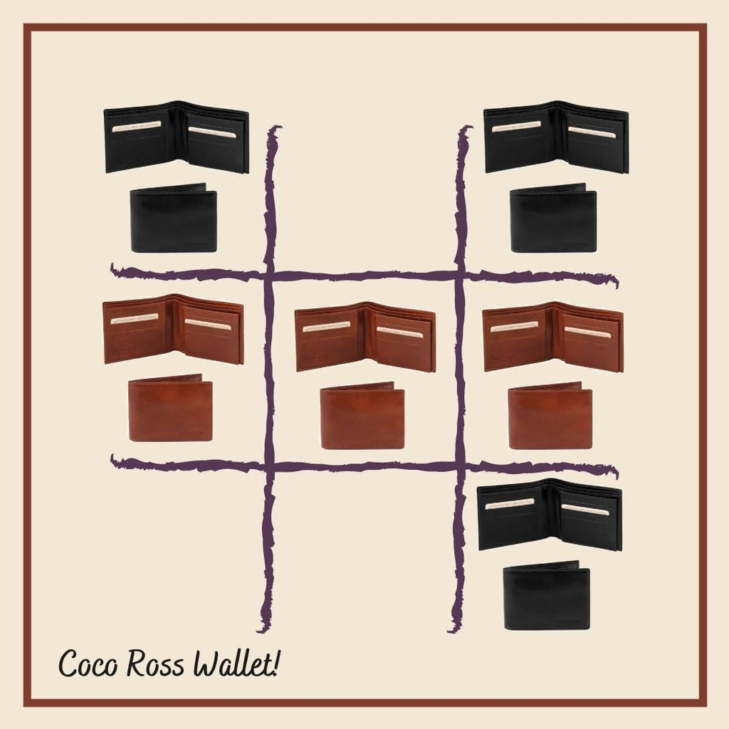 Tic-tac-toe with Coco Ross Wallets