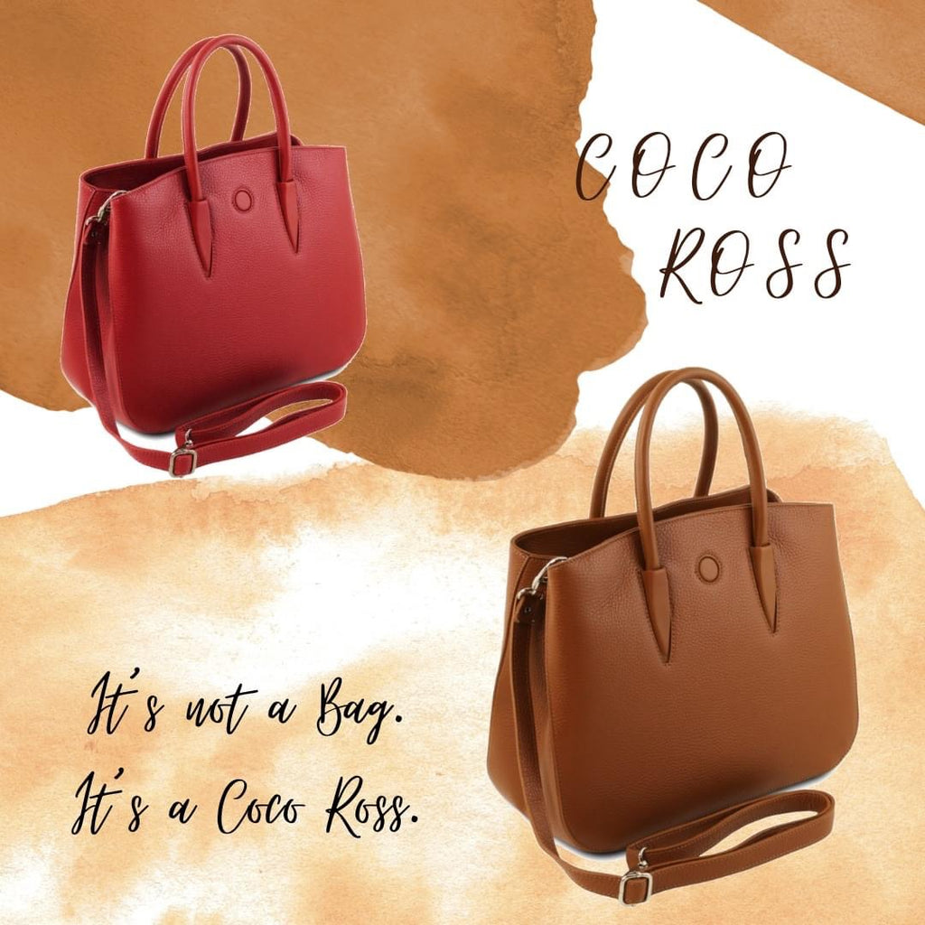 Behind every successful woman is a fabulous handbag. It's Coco Ross.