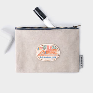 Howlpot LIFE Pouch(Light Beige)