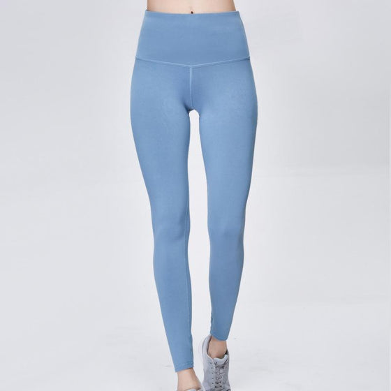 Flash Drying Workout  High-Waisted Leggings QCFE RealBang