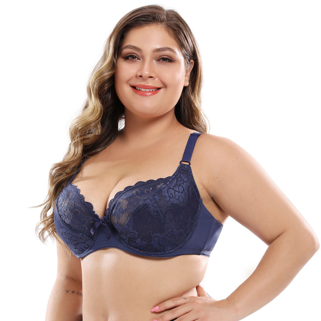 Full Lace Wired DD Cup Bra XSR GLYX51830 RealBang