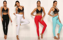 High-Waisted Textured Leggings YZ RealBang