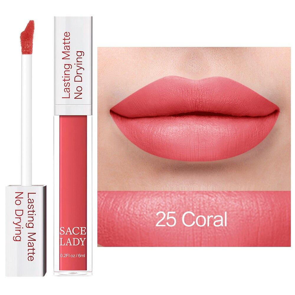 Matte Lipstick 19 Colors Cosmetic SL RealBang