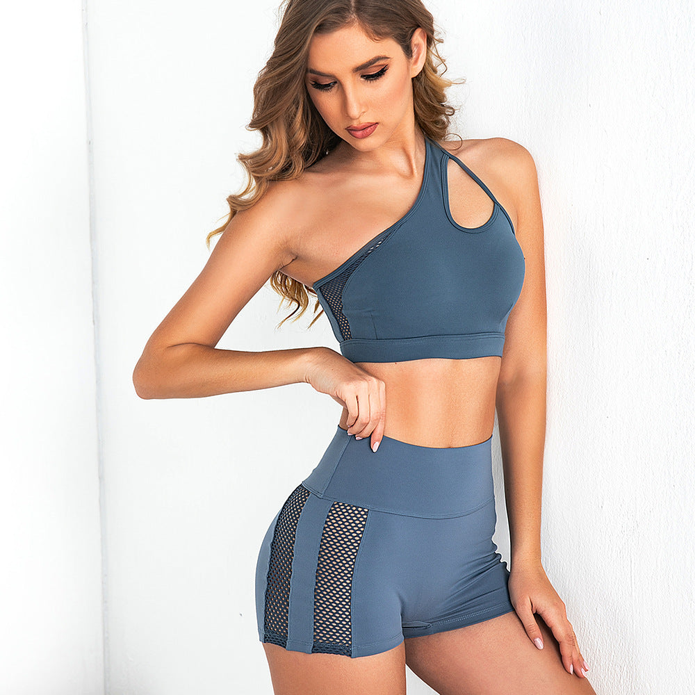 Push Up Work Out Shorts Set