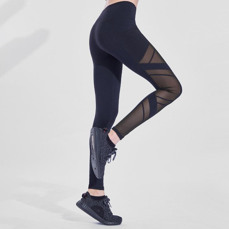 Perforated  High-Waisted Leggings QCFE RealBang