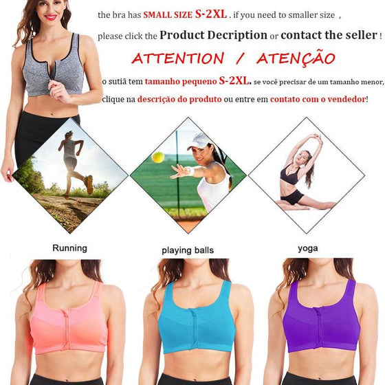 Plus Size Zipper Sports Bra S-5XL https://detail.1688.com/offer/531863450625.html?spm=a2615.7691456.autotrace-offerGeneral.1.423772f2DwEsCV