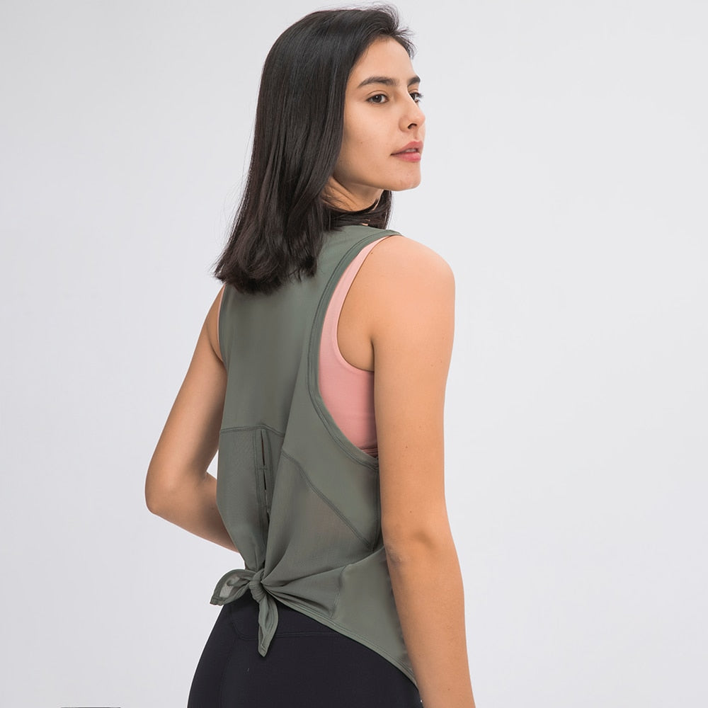 UPV Protection Tie-Back Shirt