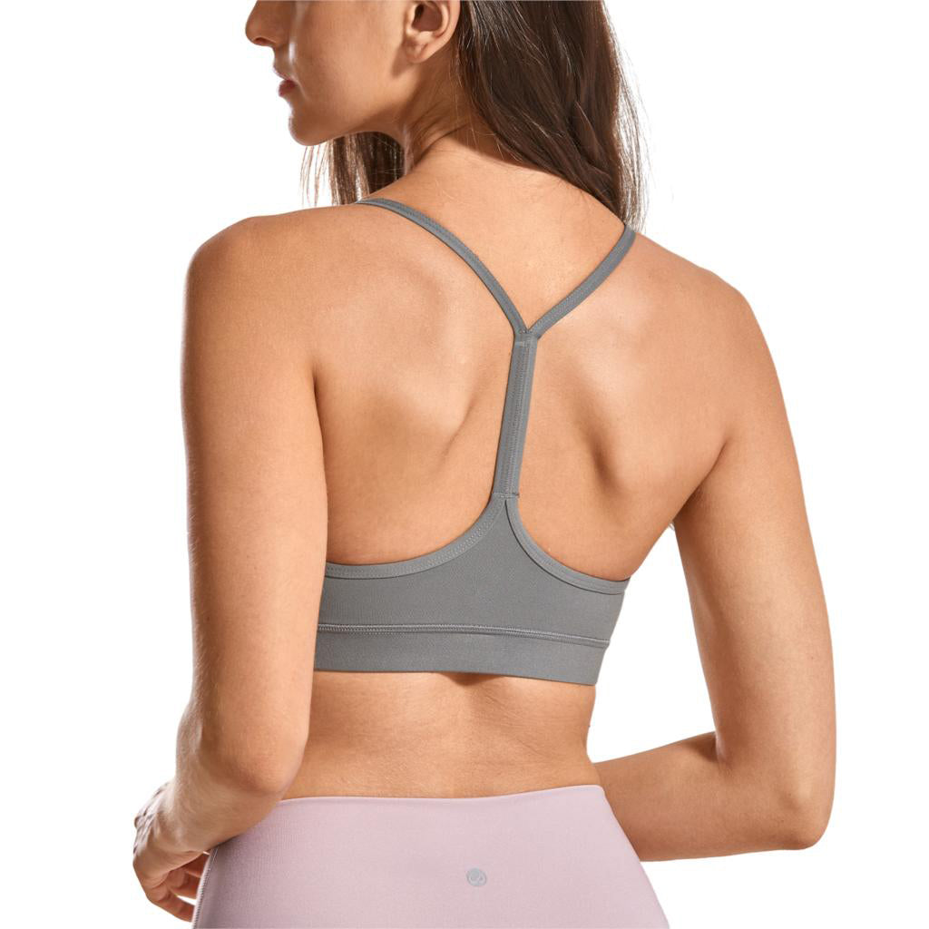 Brushed Low Impact Strappy Sports Bra