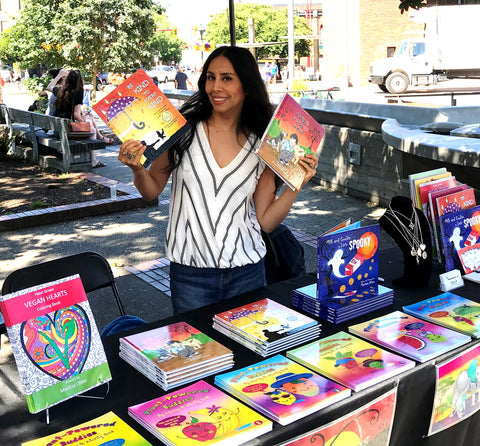 Compassionate Press is home to Maritza Oliver's children's books that educate, teach, and share vegan plantbased philosophy with young readers, parents, families, and educators | Shop Online for illustrated hardcover, picture, and colouring books for kids, teens, and adults | Kids Bookstore | Ethical Lifestyle