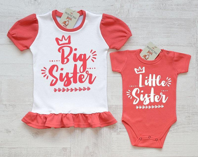 Big Sister Little Sister Matching Outfits Big Sister And Little Siste Princess Tara