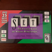 Set - The Family Game of Visual Perception