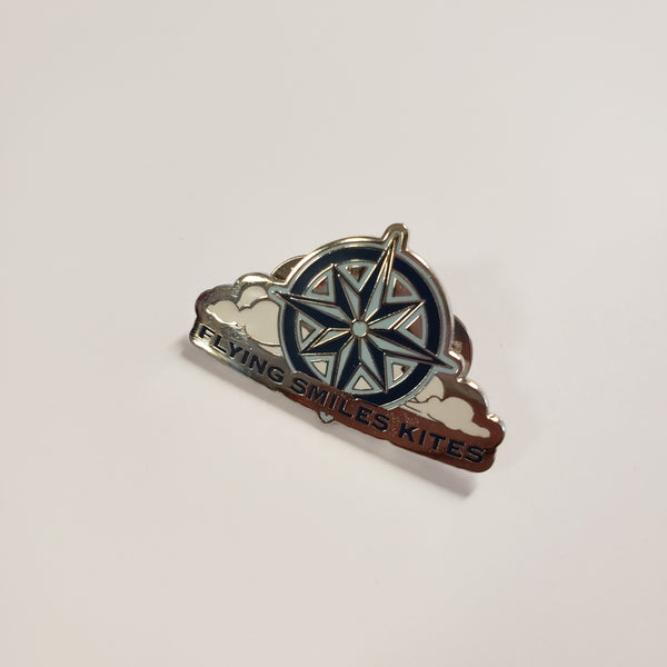 FSK Logo Compass Rose Pin
