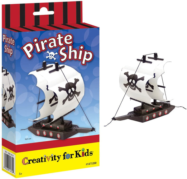 Paint Your Own Pirate Ship