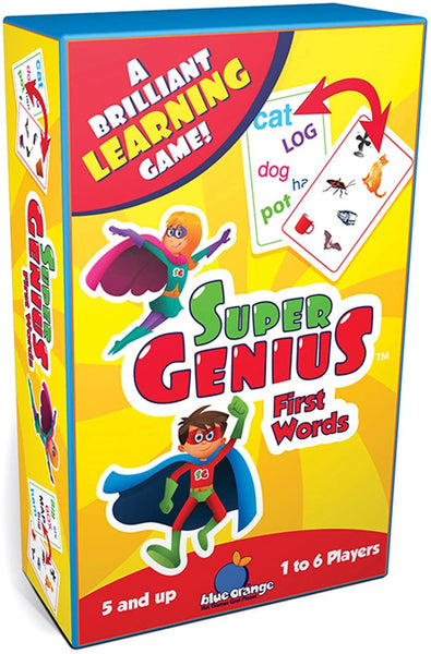 Super Genius First Words
