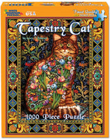 Tapestry Cat Puzzle