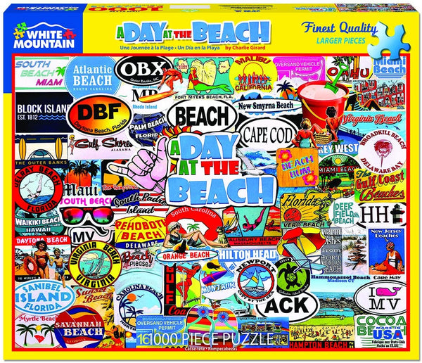 A Day at the Beach Puzzle