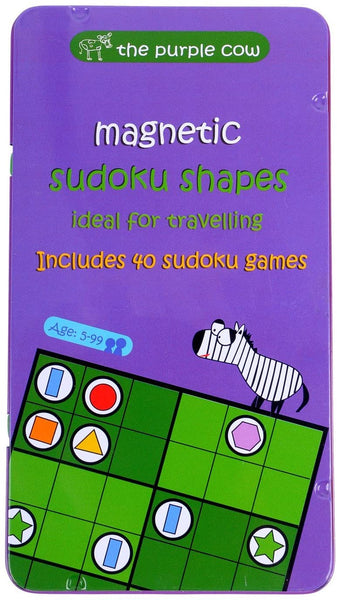 Magnetic Sudoku Shapes