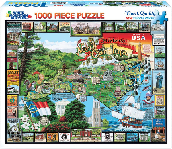 Historic North Carolina Puzzle