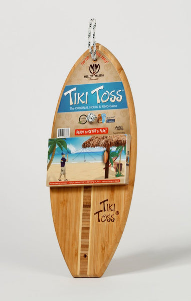 Tiki Toss Hook & Ring Game