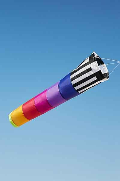 Rainbow Sunset Windsock