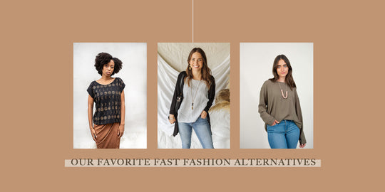 Favorite Fast Fashion Alternatives