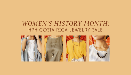 Women's History Month: Costa Rica Jewelry Sale