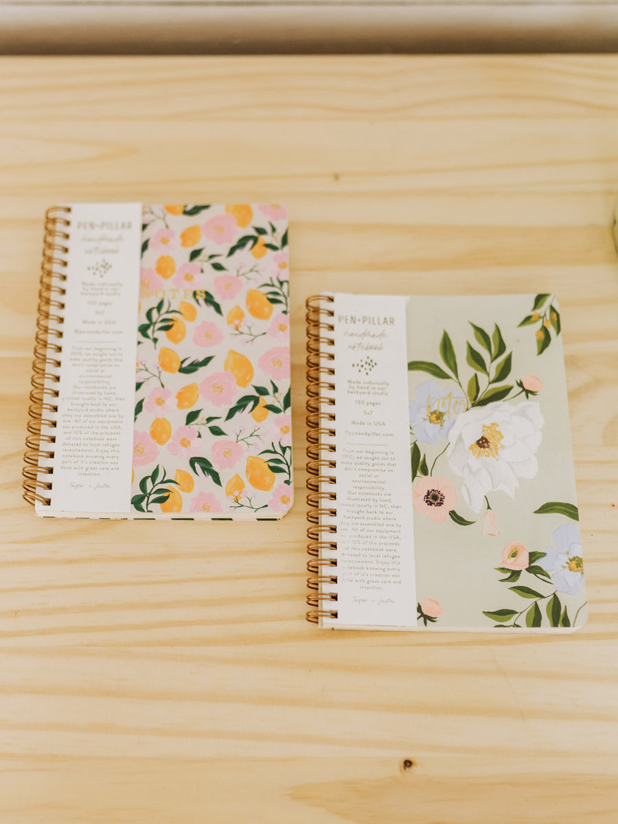 Floral To-Do Notebook