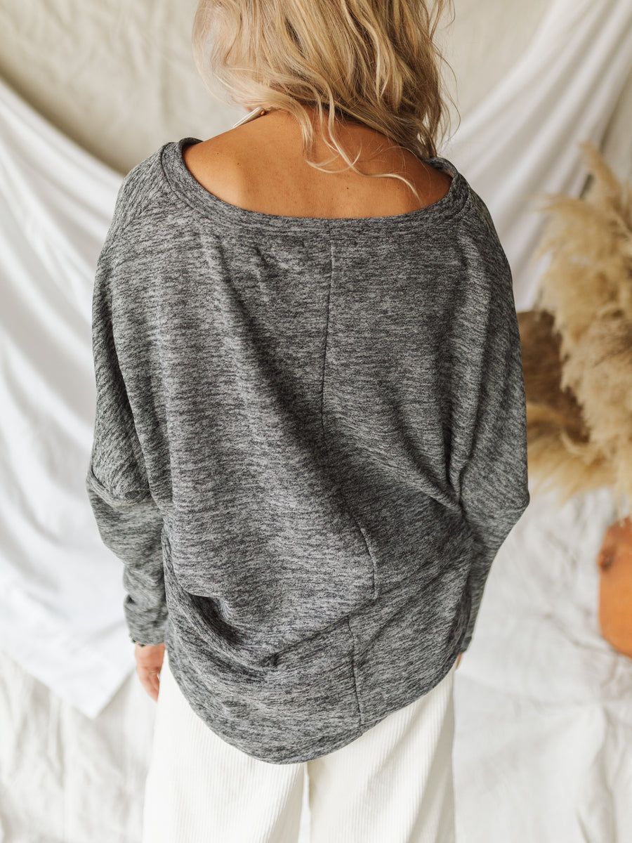 Heather Grey Pullover