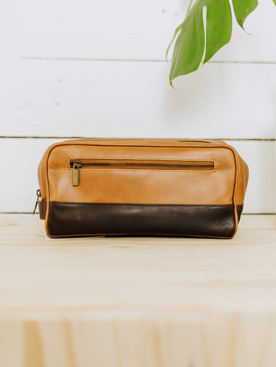 Leather Dopp Bag