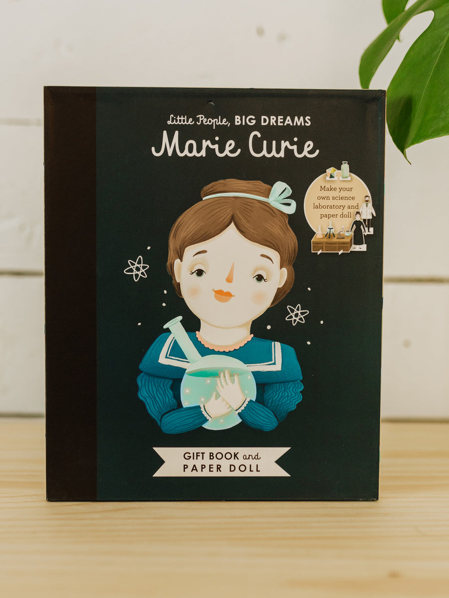 Little People, Big Dreams: Marie Curie Book & Paper Doll