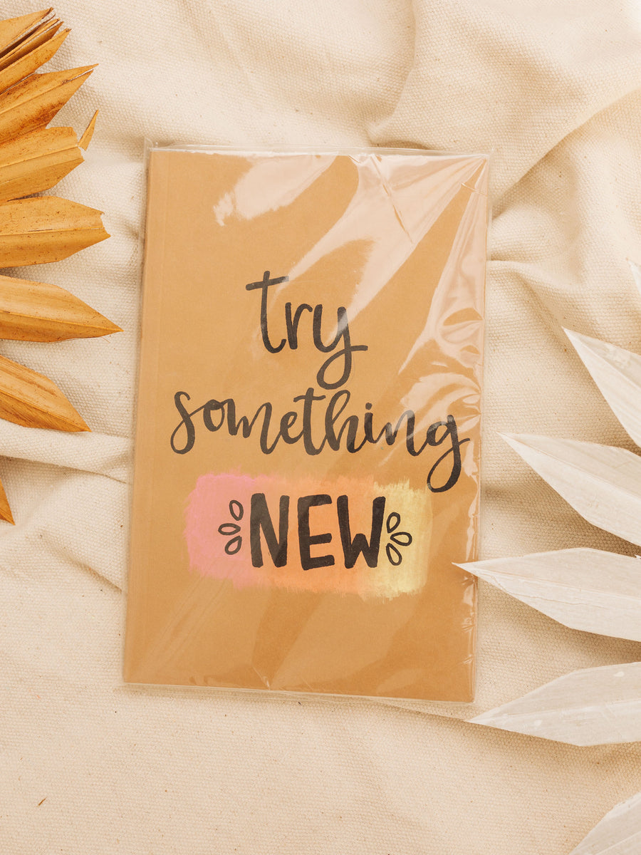 Try Something New Dot Journal