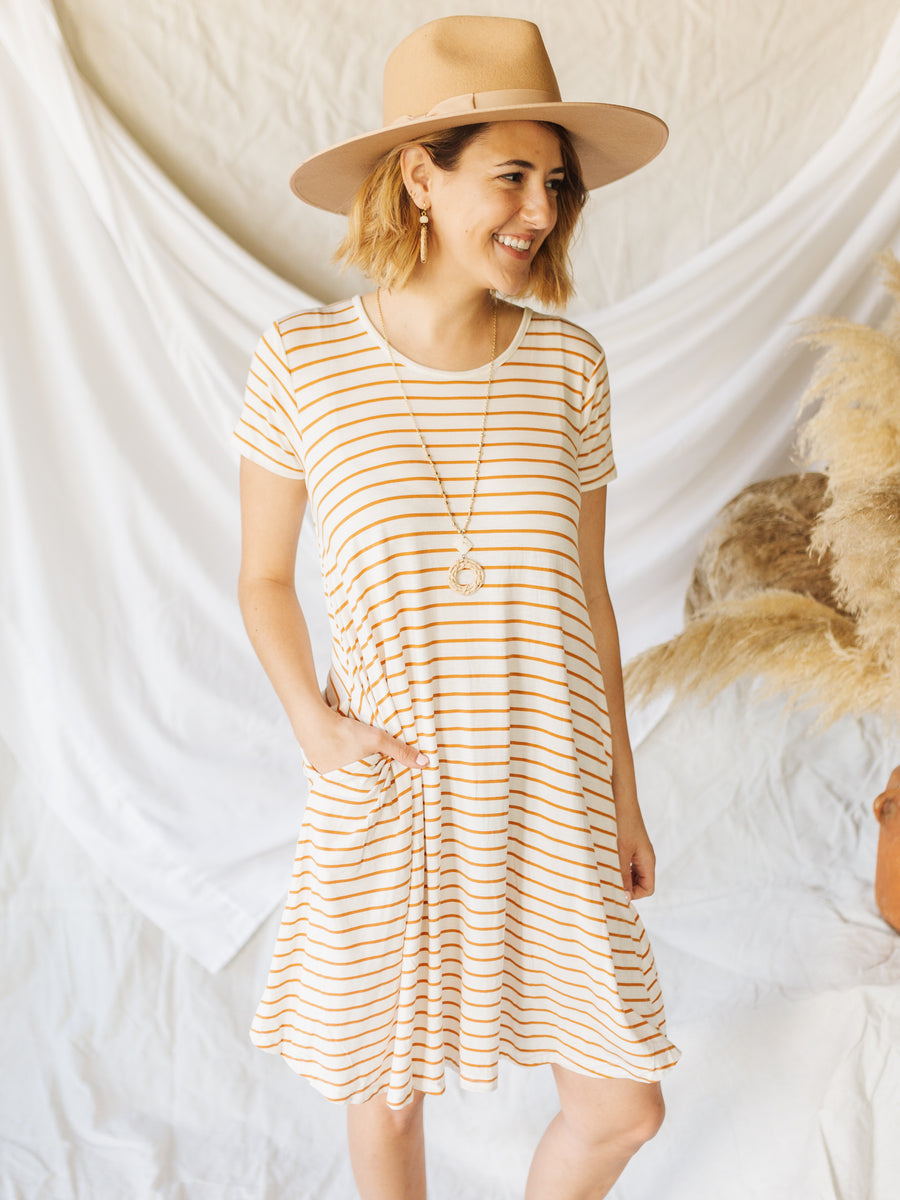 Honey Pocket Swing Dress