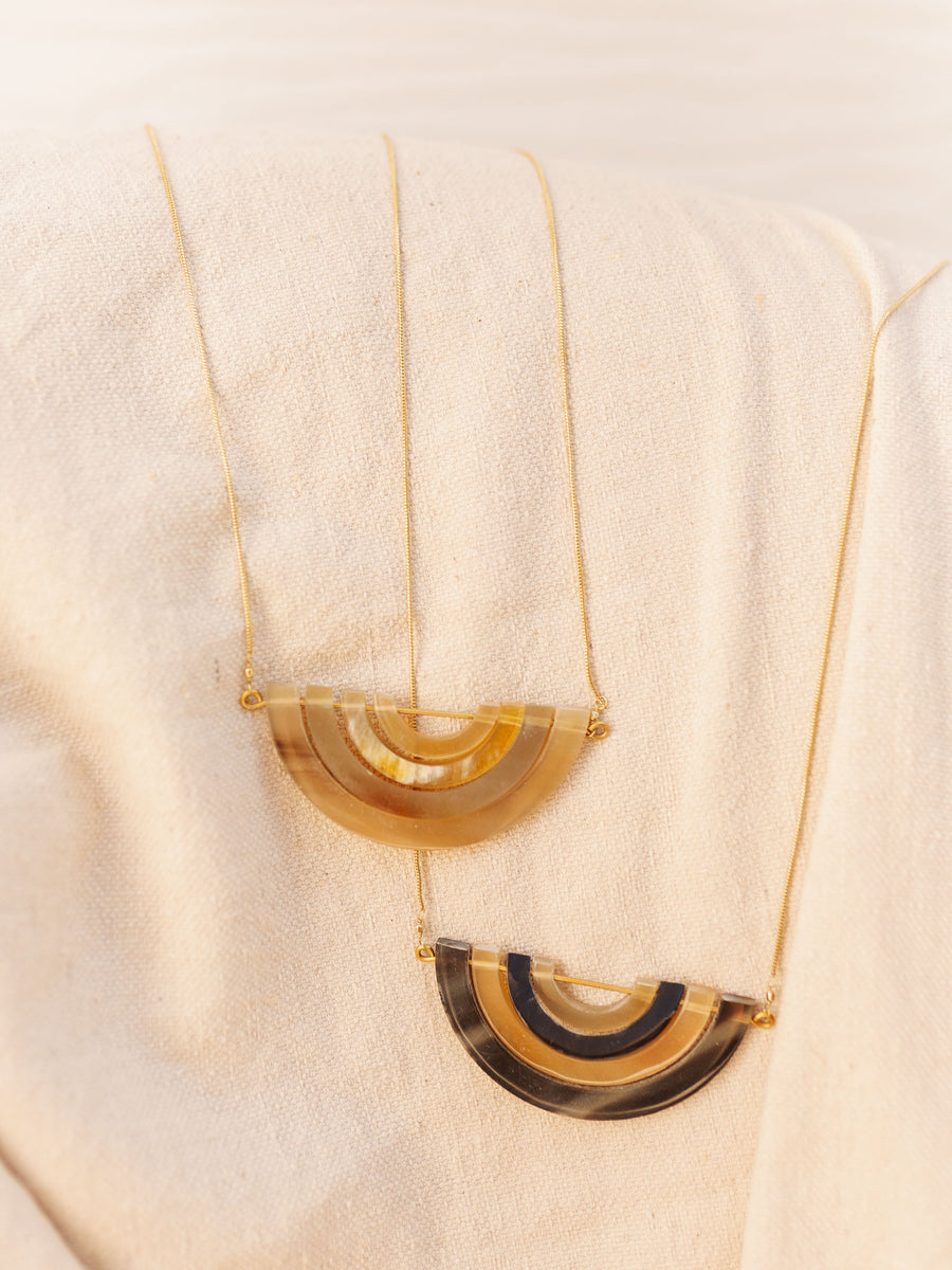 Bala Horn Necklace