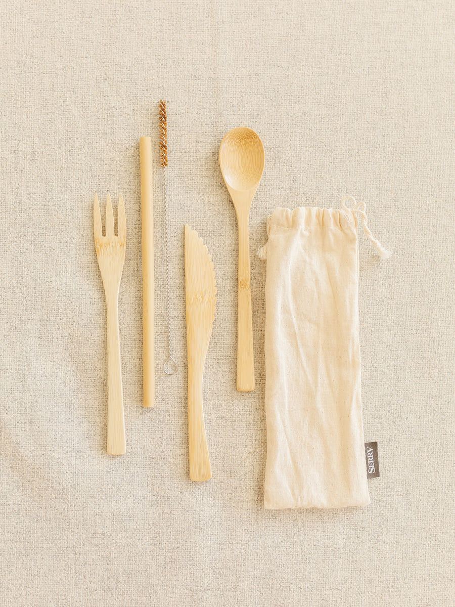 Re-Usable Bamboo Utensils