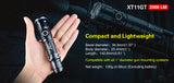 Kit airsoft lampe tactique Klarus XT11GT 2000Lumens