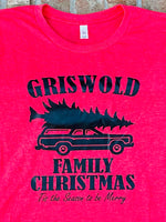 Griswold Family Christmas short sleeved tshirt
